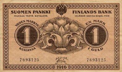 1-Markka 1916